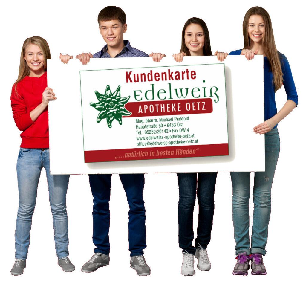 Kundenkarte Edelweiss Apotheke